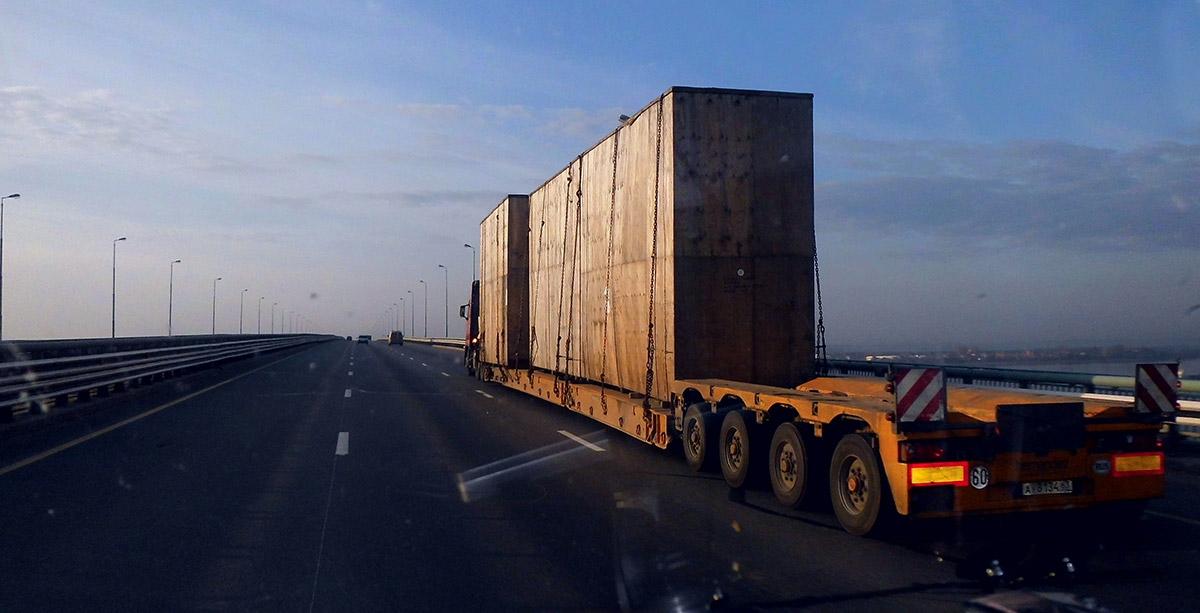 Доставка крупногабаритных грузов снг